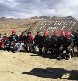 """Central de Cooperativas Minero Metalúrgicas Puno Limitada - """"CECOMIP Ltda."""""""