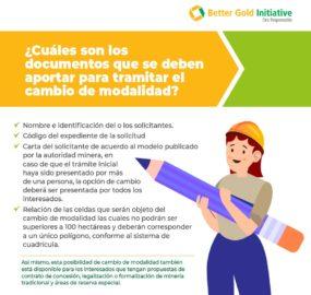 Productores de oro de pequeña escala tienen nuevas facilidades en los trámites para legalizar sus operaciones en Colombia